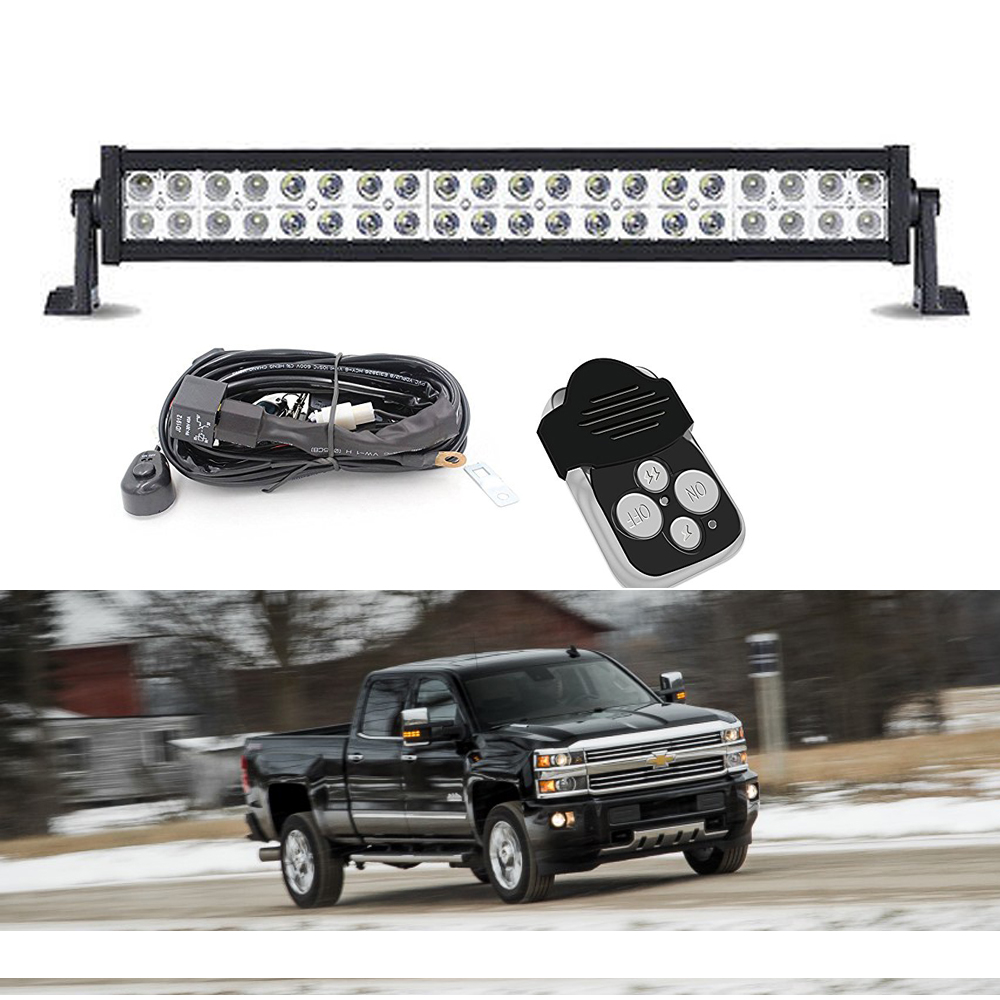 "High Power 200w 20 Inch Jeep Accessories Led Light Bar For: 20"" Inch LED Light Bar Bumper Grill For 11-14 Chevrolet"