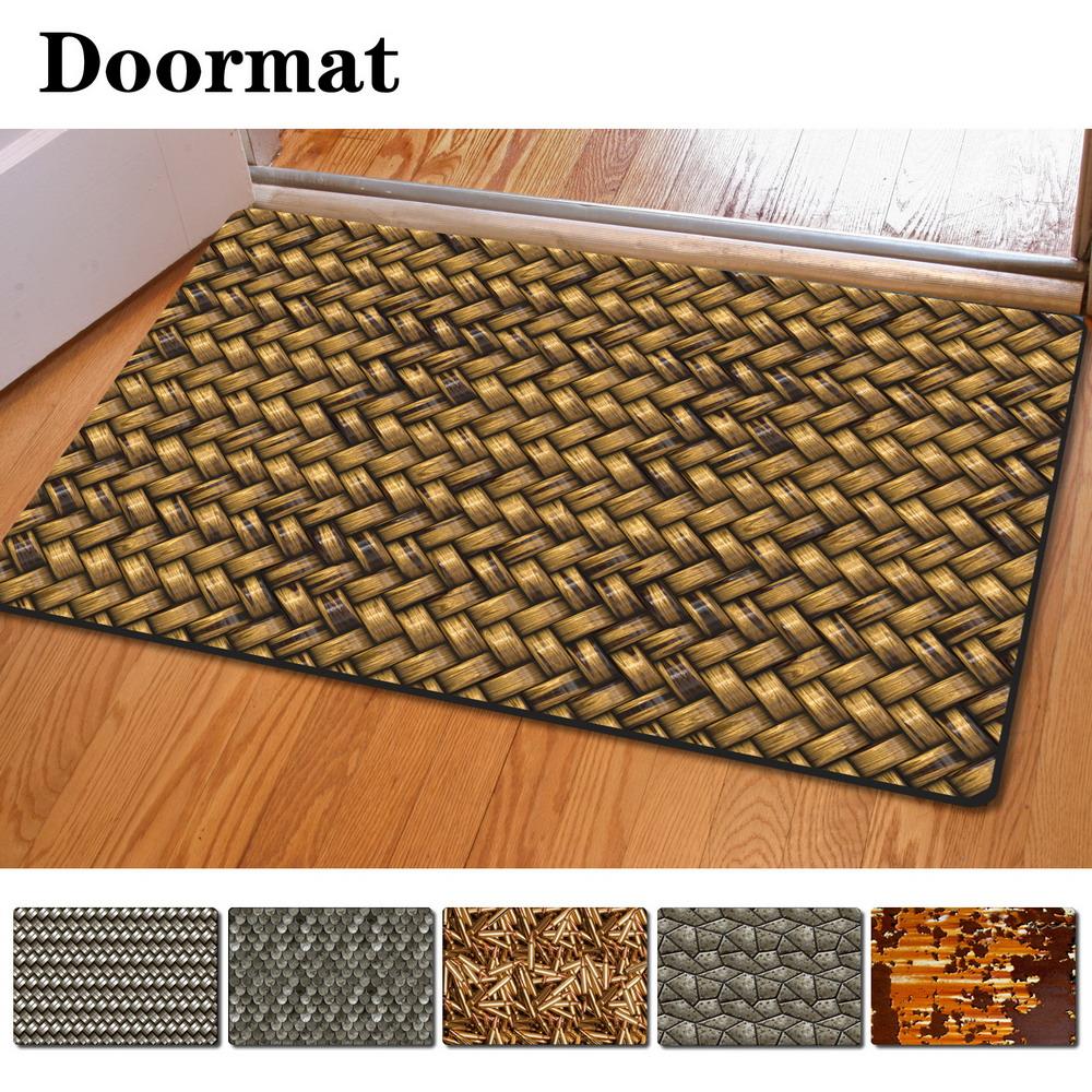 cool fashion entrance doormat kitchen bathroom non slip carpet floor rug mats ebay. Black Bedroom Furniture Sets. Home Design Ideas
