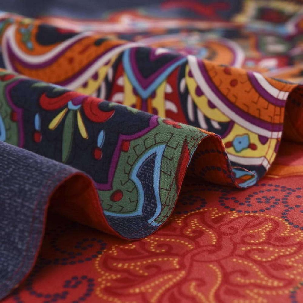 All Sizes Bohemian Mandala Duvet Cover With Pillow Case