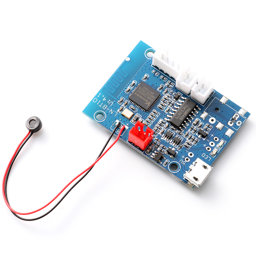 bluetooth 4 1 audio receiver module 5w 5w stereo amplifier. Black Bedroom Furniture Sets. Home Design Ideas