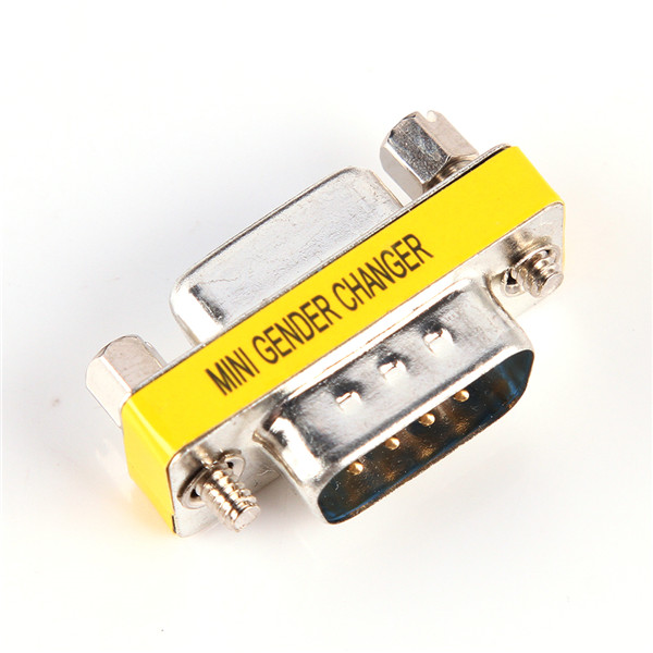 9 Pin To 5 Pin Midi Coupler : Pin db male to female adapter adaptor gender