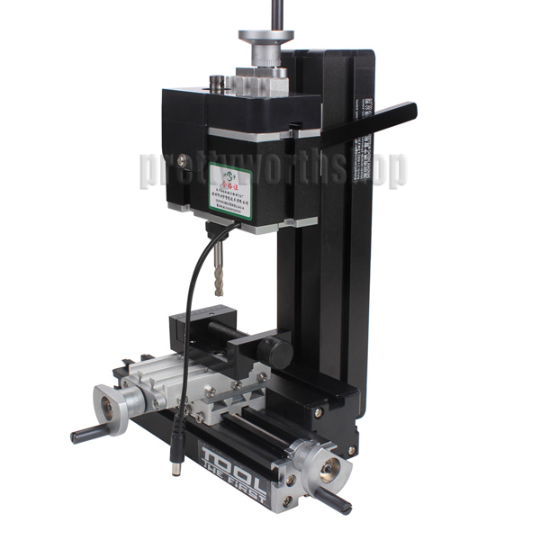 36w Aluminum Metal Mini Milling Machine Diy Woodworking