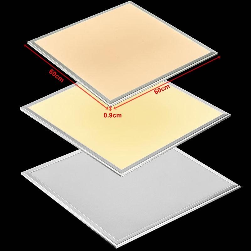 dimmbar led panel 60x60 120x30 120x60cm deckenleuchte 36w 64w mit fb 2800 6500k ebay. Black Bedroom Furniture Sets. Home Design Ideas