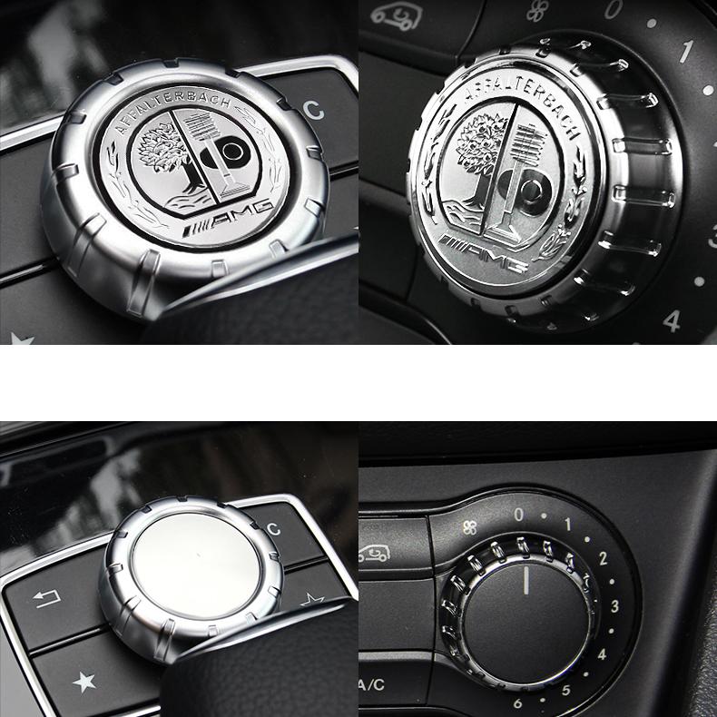 1 ps multimedia control badge alloy oem amg sticker badge for Mercedes benz amg logo