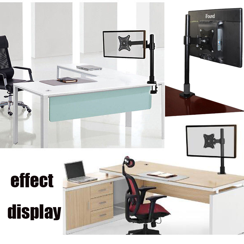 13 27 monitorst nder monitorhalter pc bildschirm monitor tisch halterung mi 02 ebay. Black Bedroom Furniture Sets. Home Design Ideas