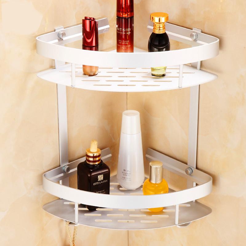 Shampoo Basket Shower Caddy Shelf Bathroom Corner Rack Storage Holder Hanger -US