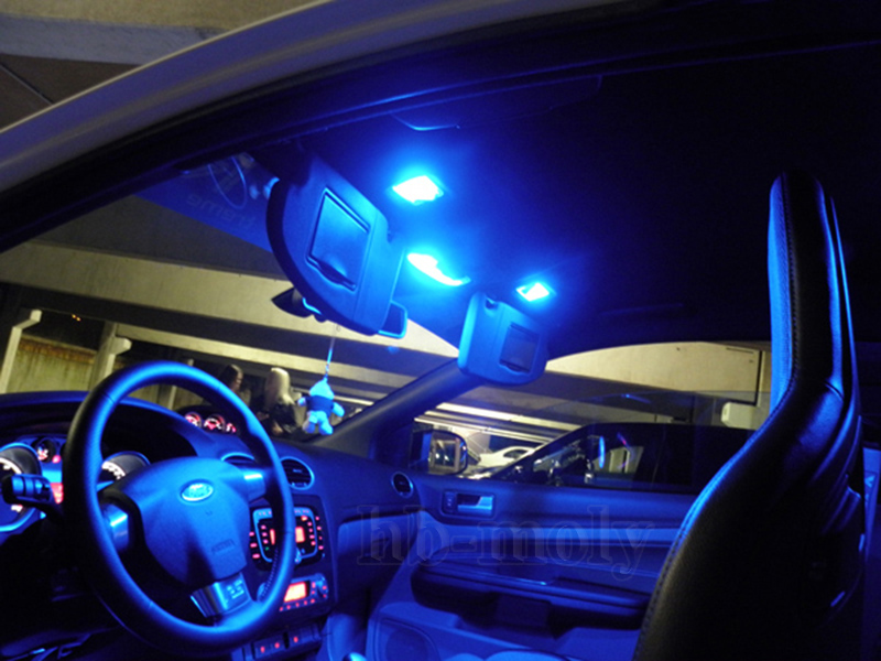 New Bright Blue Full Led Upgrade Interior Light Kit For Honda Crv 2002 2006 X6p Ebay