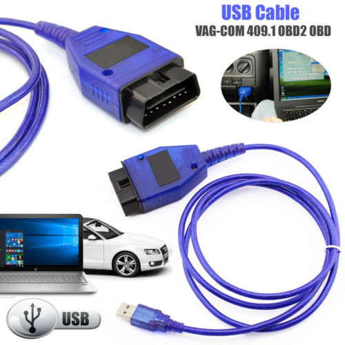 Details about NEW OBD2 409 1 USB Cable VAG-COM OBD Diagnostic Scanner  VW/Audi/Seat VCDS 2019