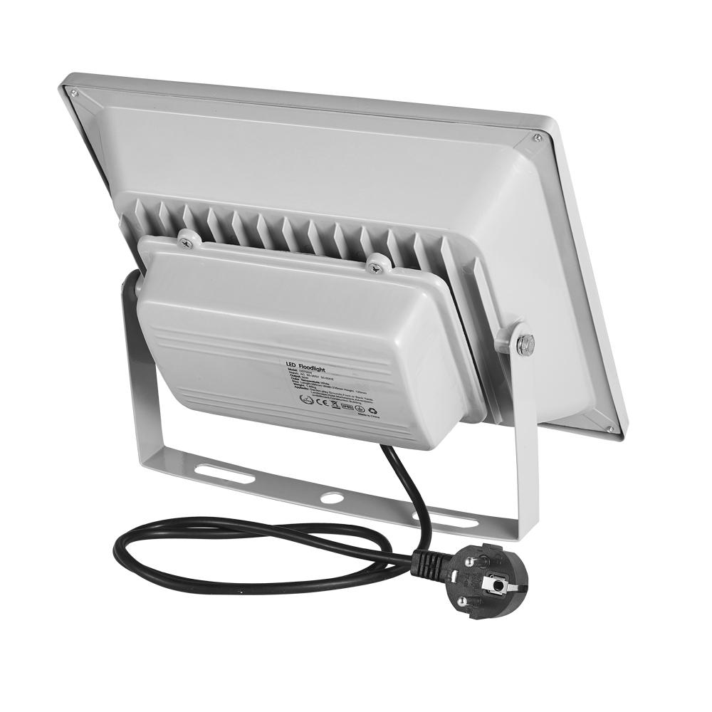 50w led fluter flutlicht lampe mit stecker au enleuchte. Black Bedroom Furniture Sets. Home Design Ideas